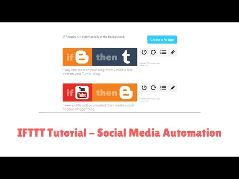 How to Automate Social Media Shares with IFTTT Tool (If This Then That)