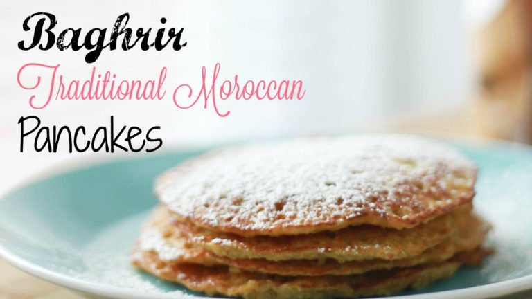 baghrir moroccan pancakes