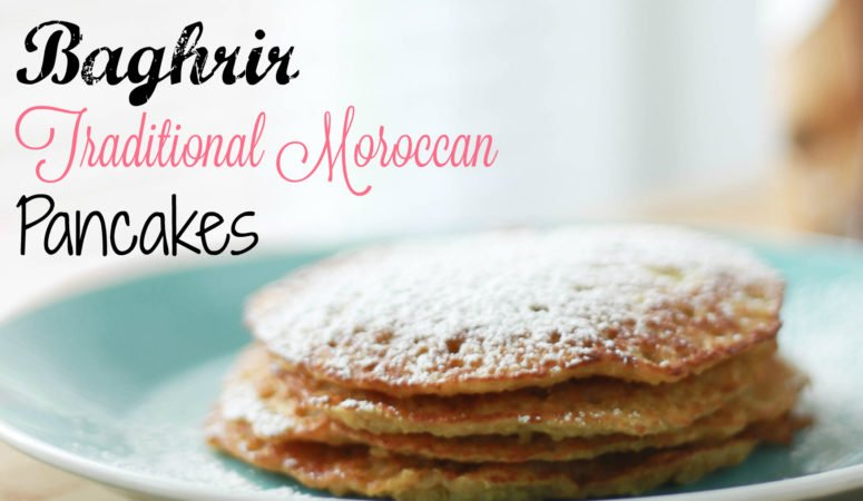 How to Make Fluffy Sweet Moroccan Pancakes – Baghrir