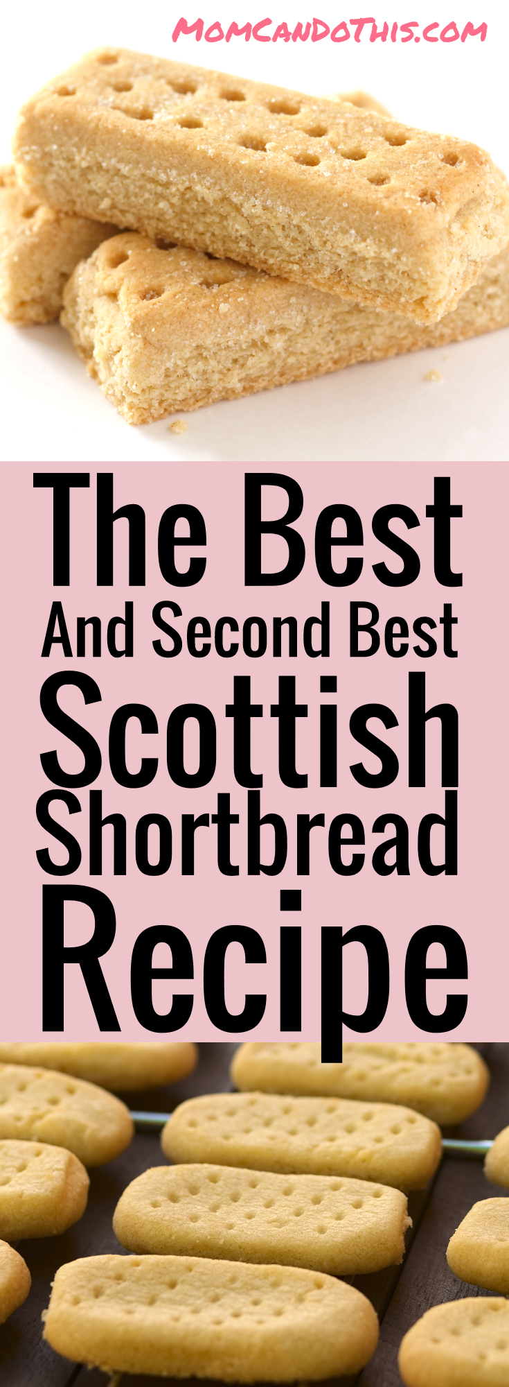 The Best and Easy Scottish Shortbread Recipe! Click through and print the recipe for free!
