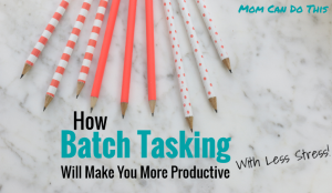 Batch Tasking Productivity Tips