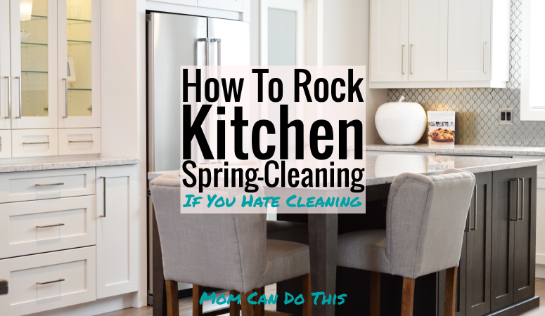 How to Easily Spring Clean the Kitchen if you Hate Cleaning