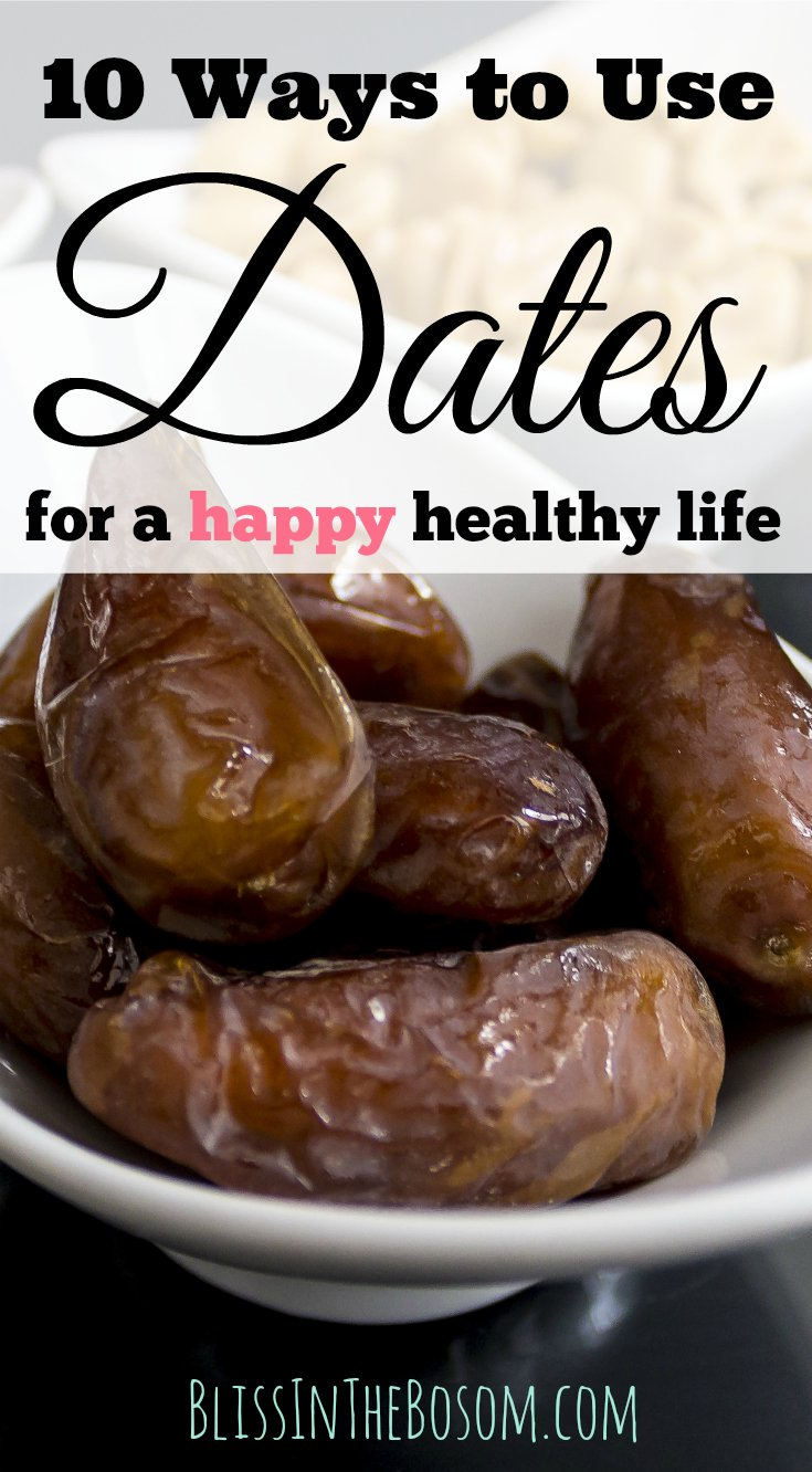 How To exploit the dates fruit benefits for a healthy sweet life! Click through for the full post with 10 Ways To Use Dates for a better nutrition.