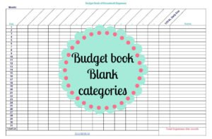 budget book 101 to make you a finance ninja read this complete guide