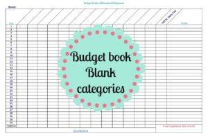 budget book printable