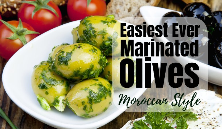 How to make Marinated Olives – simple and delicious