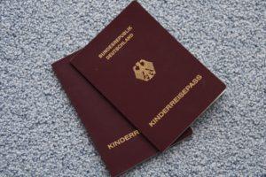 flying with kids german passport