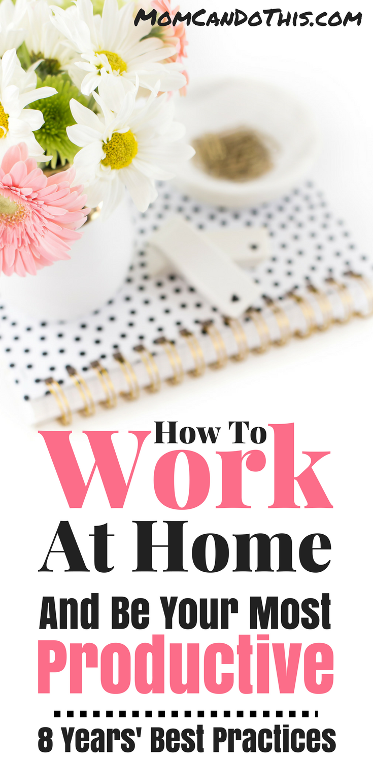 Making Money From Home isn't always easy. Easy and effective ideas to make working at home super productive and organized! Save for later reference now!