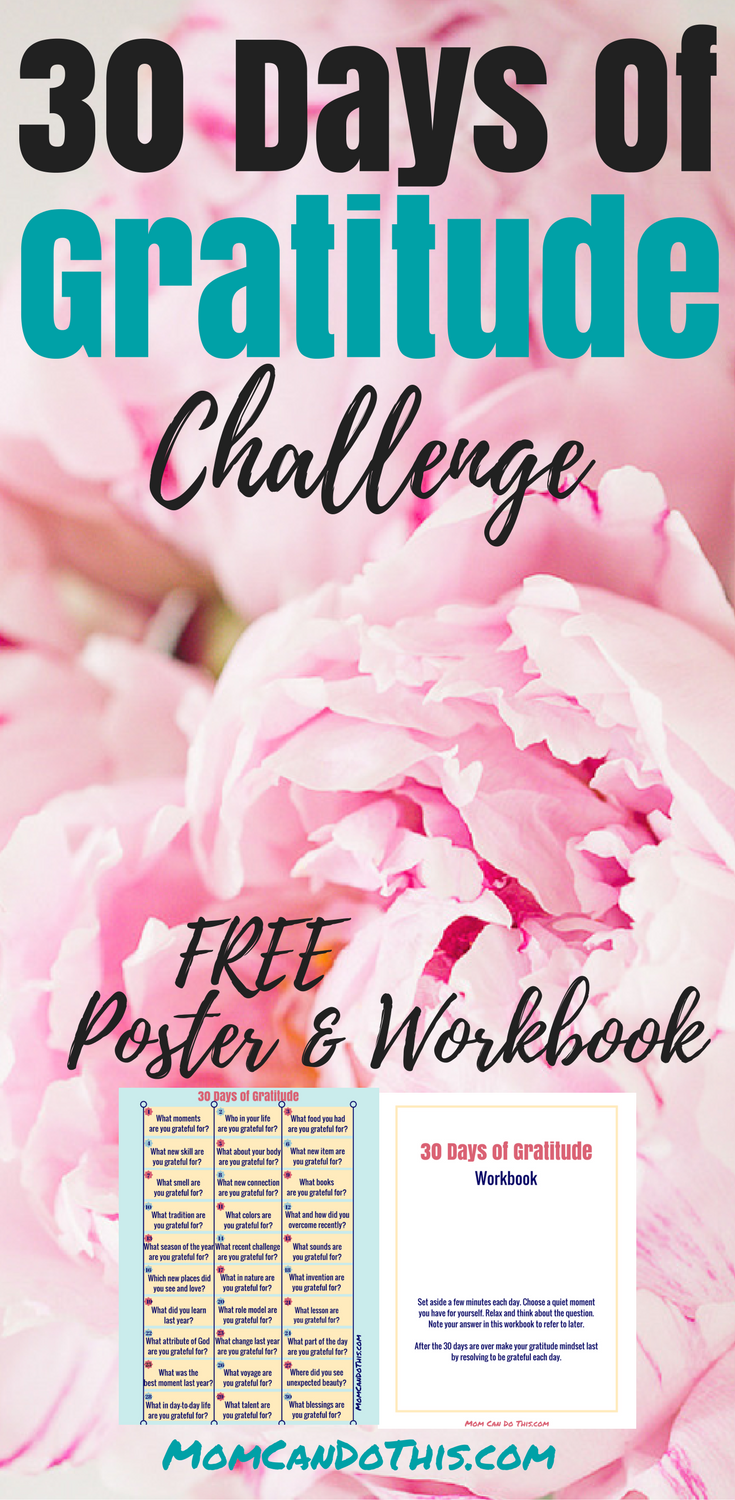 Free Gratitude Journal and a Gratitude Challeng