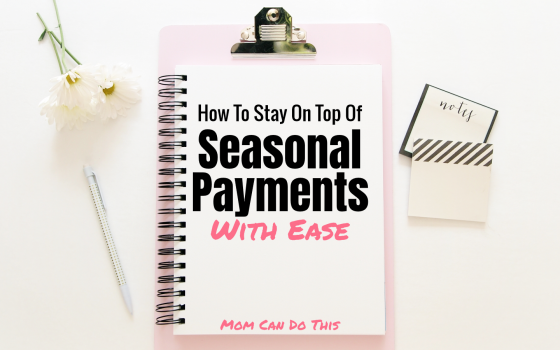 How to easily stay on top of yearly payments