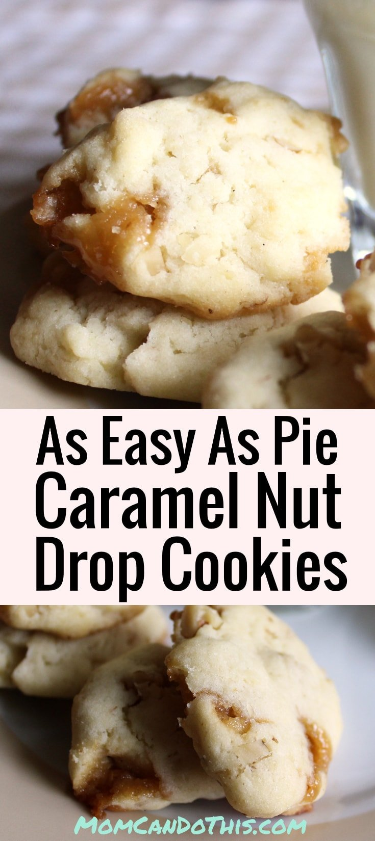Super Easiy Caramel Cookies Recipe. One of our favorite easy cookie recipes! Make chewy caramel cookies in no time. Foolproof homemade cookies! Click to print recipe.