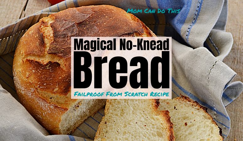 how to make super easy no knead bread