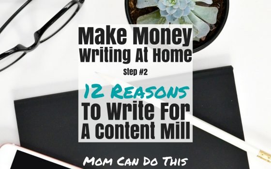make money writing at home for a content mill