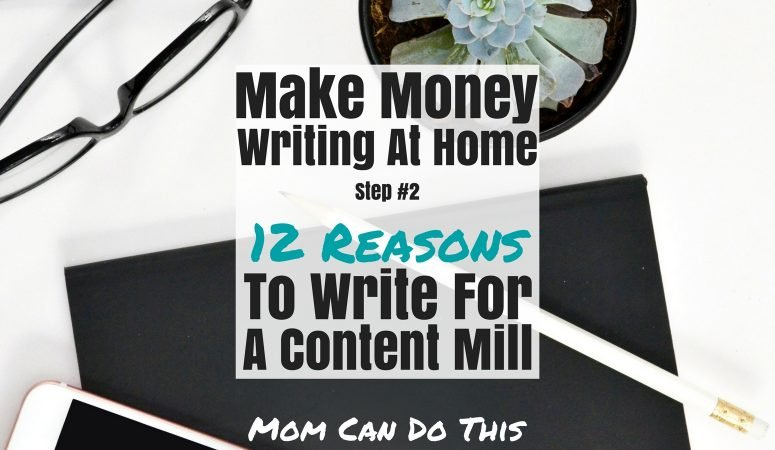 12 reasons to write for a content mill (and one why not)