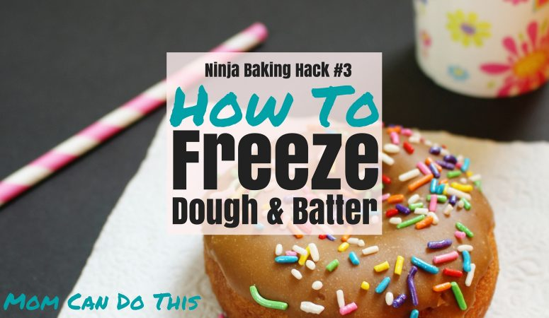 How to easily freeze batters and doughs