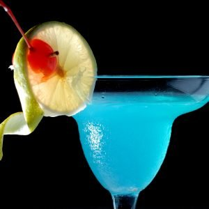ocean water mocktail - alcohol-free cocktail