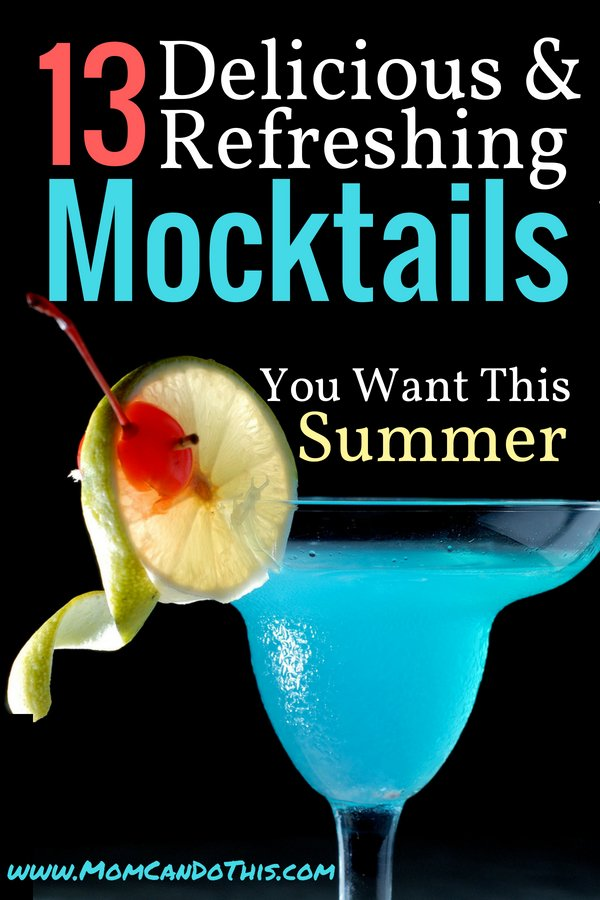 13 Fresh Summer Mocktail Recipes. Non-Alcoholic Cocktails to try for all the fun, minus the booze. Healthy and family-friendly! Choose your favorite easy mocktail!