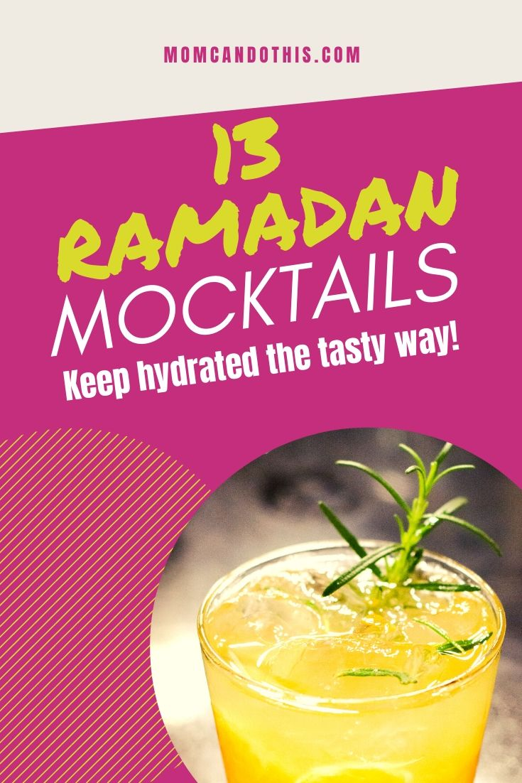 mocktail ramadan recipes image