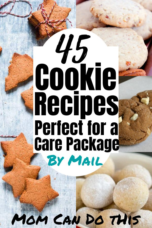 Great recipes for cookies that ship well! Send care packages with yummy cookies using these easy cookie recipes for cookies by mail. I love #8 and 25 for sending some homemade love this season! Christmas cookies, and special gluten-free, egg-free, dairy-free, and even sugar-free option for your cookies this year! Click through for the entire list!