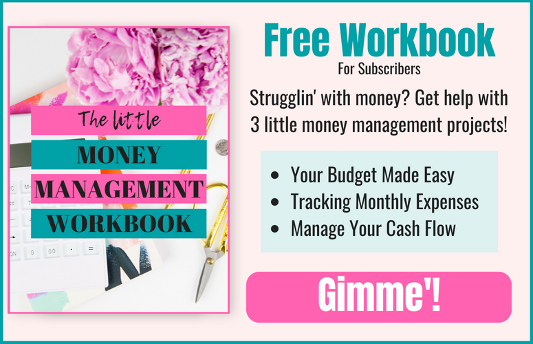 money management workbook for women